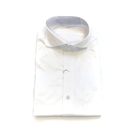 Ring Jacket Herringbone short sleeve shirt