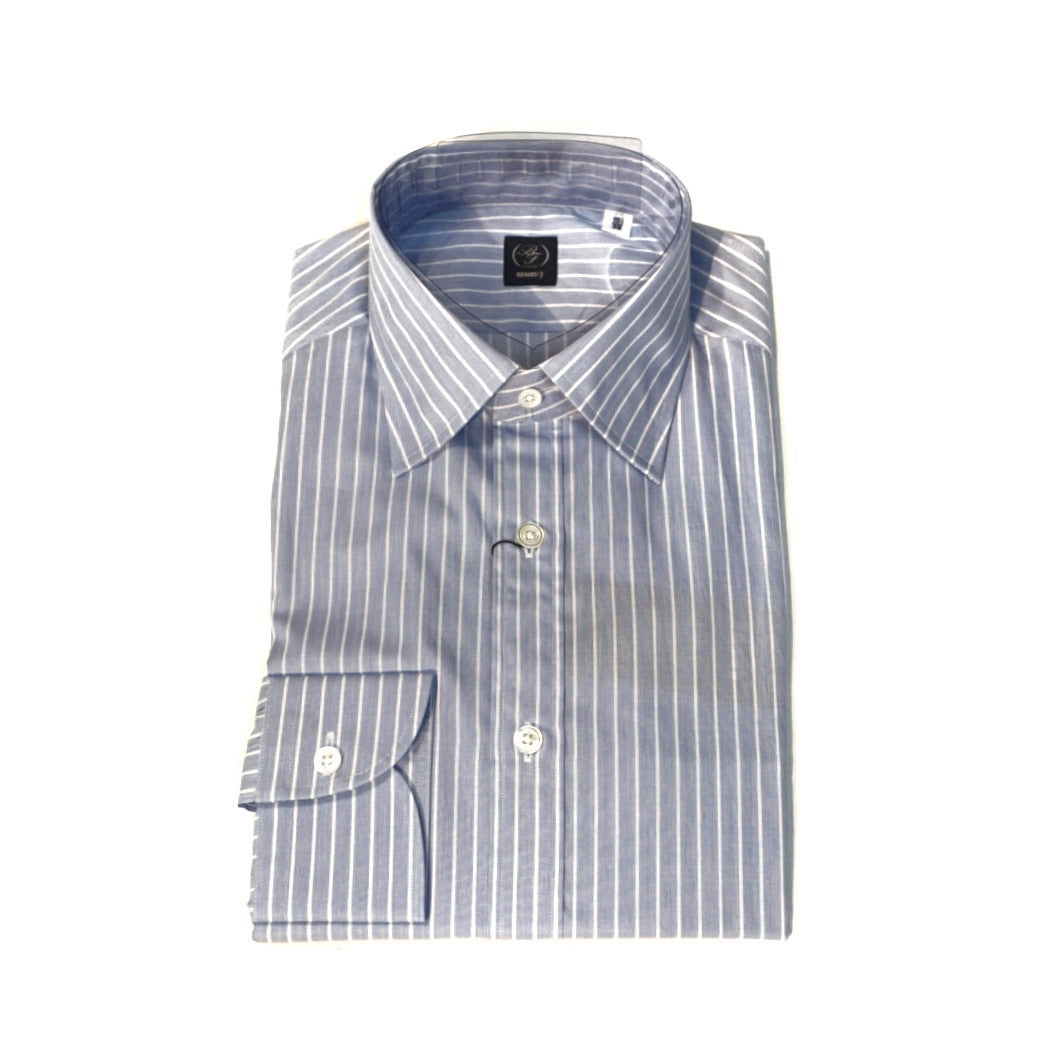 Beams F Striped Shirt