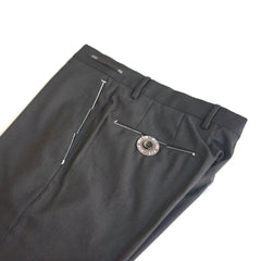 PT01 Business Wool Dark Brown Pants