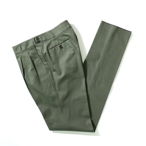 Ring Jacket Army Green Gurkha Trousers RJP-09; RJ070F01E