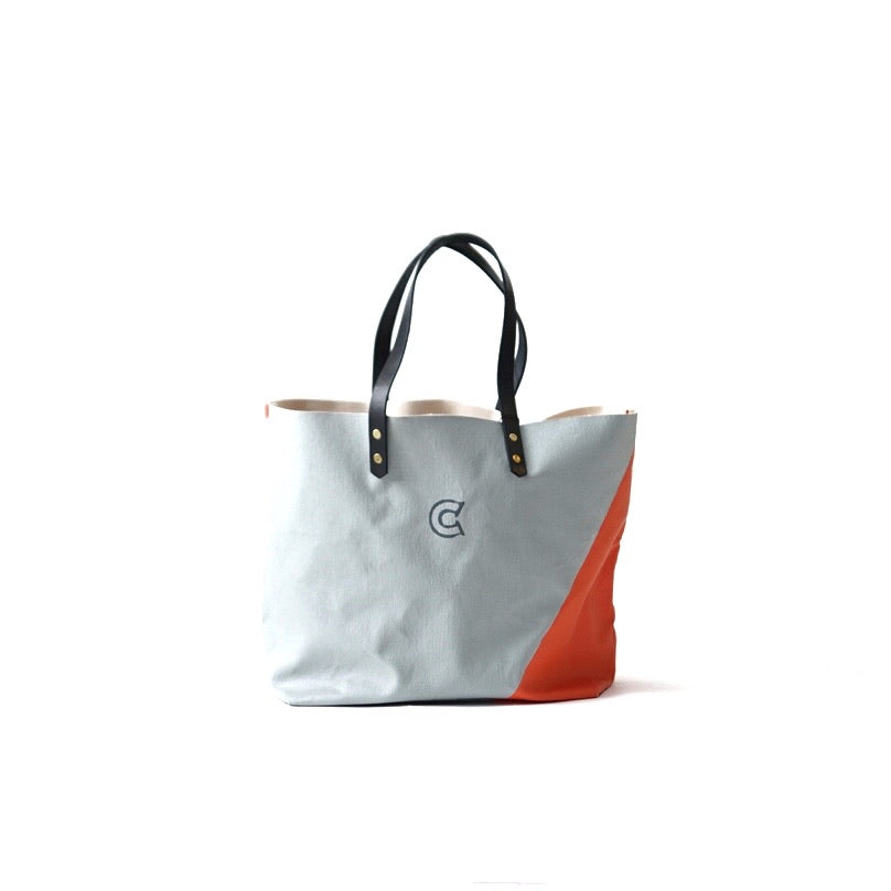 COLONY CLOTHING Grey Canvas Tote Bag