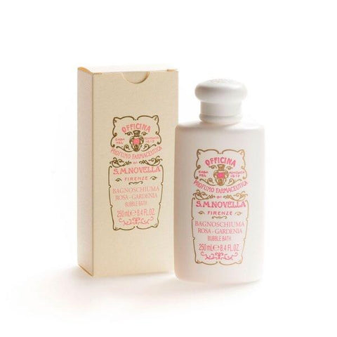 Santa Maria Novella Rose- Gardenia Bubble Bath