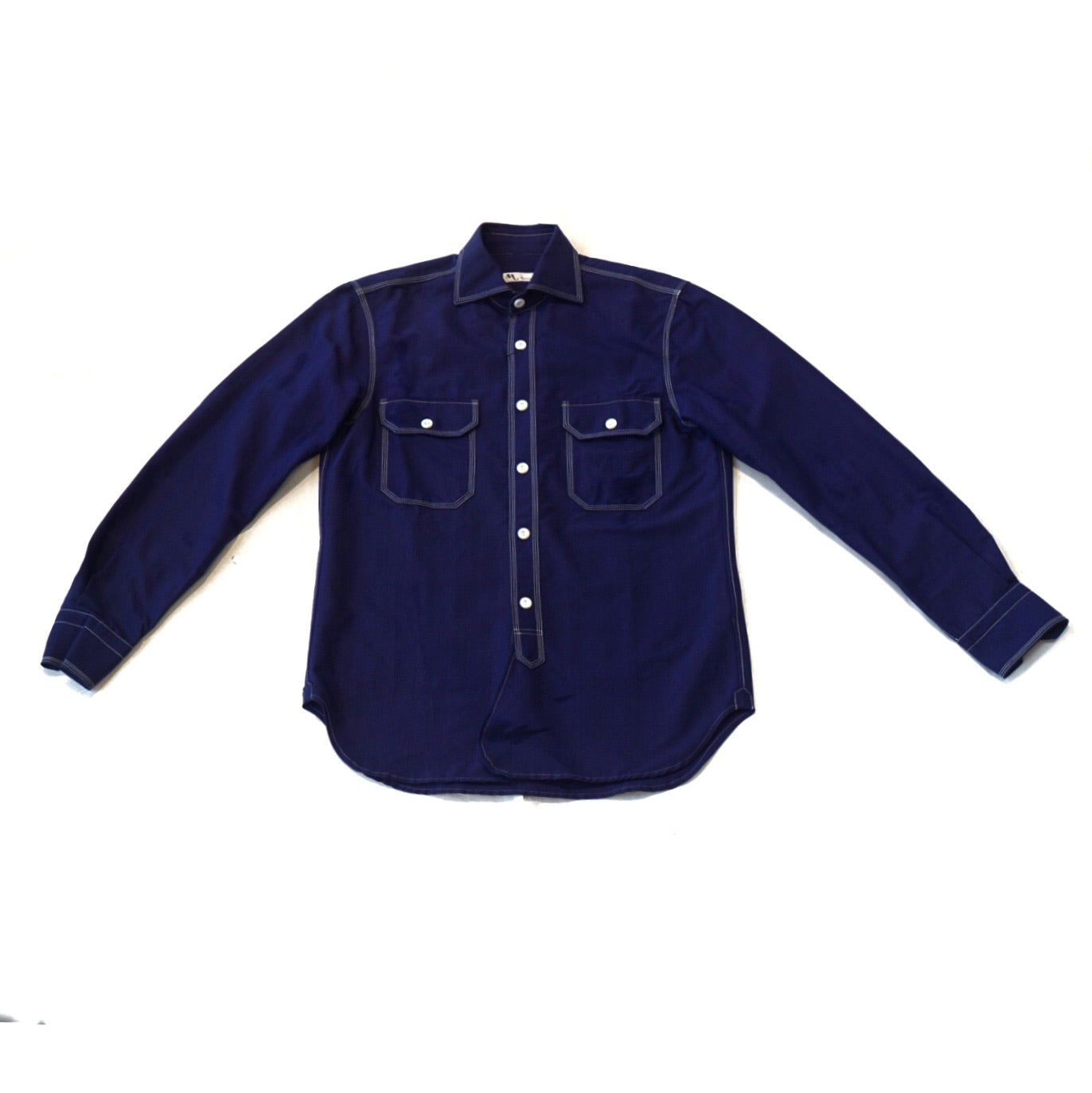 Doppiaa Purple Work Shirt