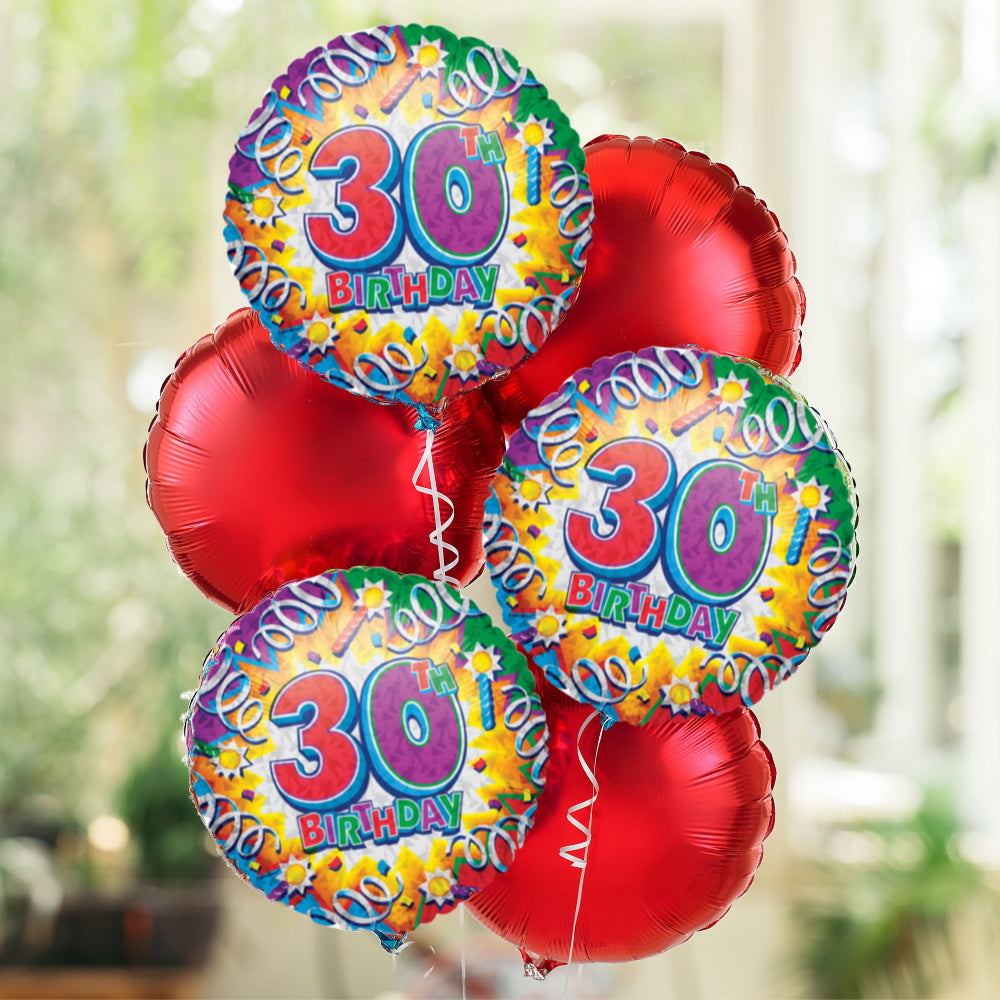 30th Special Birthday Balloon Bouquet