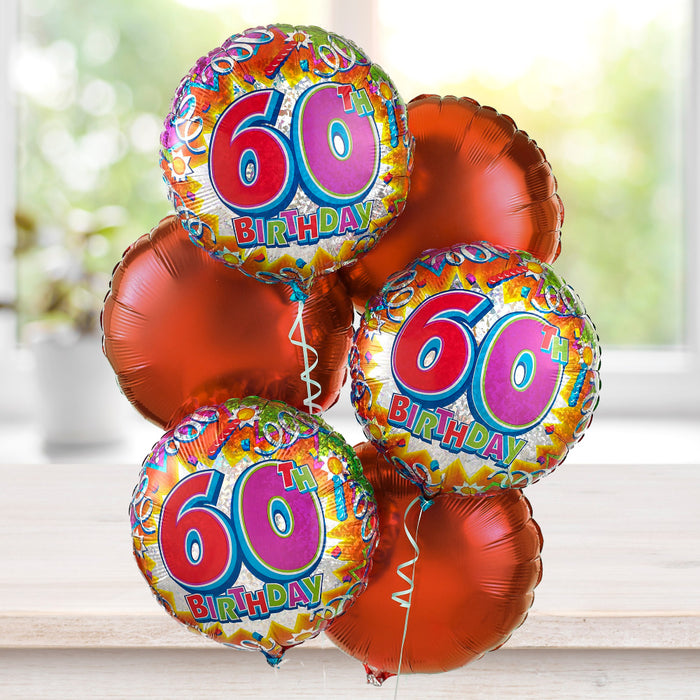 60th Special Birthday Balloon Bouquet