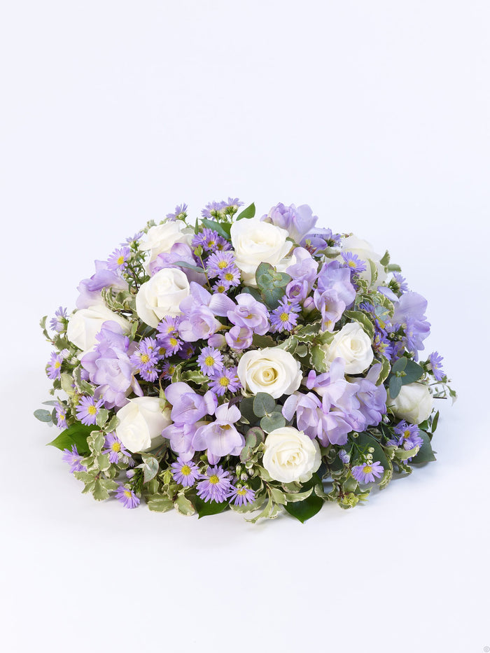 Scented Posy Lilac & White