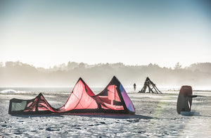 Kitesurfing the Bay Area During the Winter
