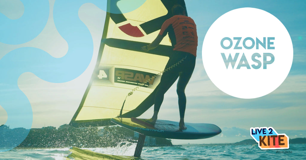 Wing Surf Unboxing Video - Ozone Wasp Wing Surfer