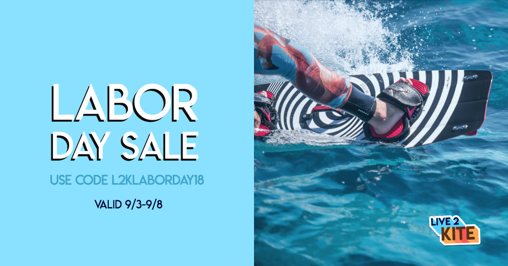 Live2Kite Kitesurfing Labor Day Sale Axis Limited 2018 Kiteboard