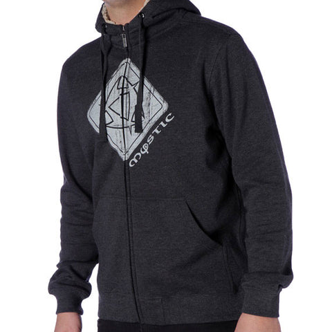 Mystic Square Sweat Zip Up Hoodie 2013