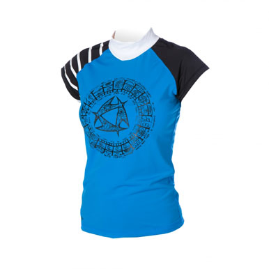 Mystic 2014 Maori Women's Rash Vest, Water Wear, - Live2Kite