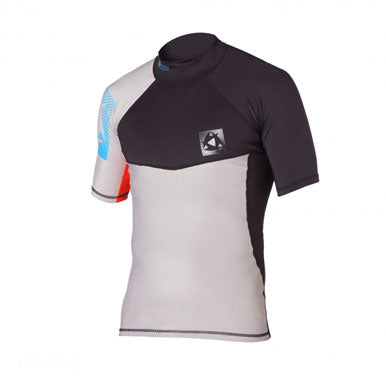 Mystic 2015 Crossfire S/S Rash Vest, Water Wear, - Live2Kite