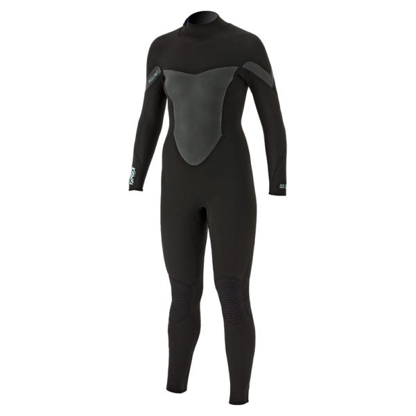 Prolimit 2018 Women's Pure Girl Fire-X DL Zodiac 5/3 Wetsuit Black/Grey, Wetsuit, - Live2Kite
