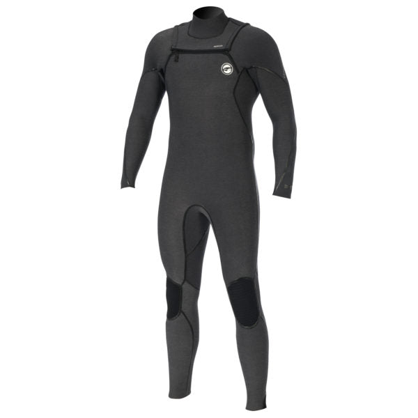 Prolimit 2019 Mercury Steamer 4/3 Freezip FTM Black/Silver, Wetsuit, - Live2Kite