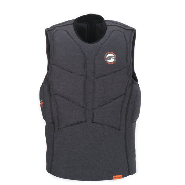 Prolimit 2019 Stretch Vest Half Padded Black/Orange