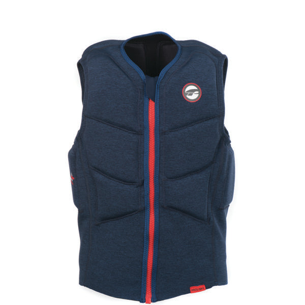 Prolimit Stretch Vest Half Padded FZ Blue/Red 2019