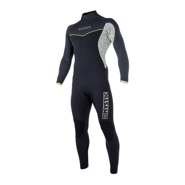 Mystic 2018 Drip Fullsuit 5/4mm Backzip Black Friday, Wetsuit, - Live2Kite