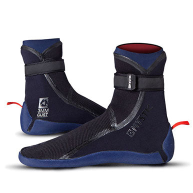Mystic 2017 Gust Liquid Seal 3mm Split Toe High Cut Boot, Booties, - Live2Kite