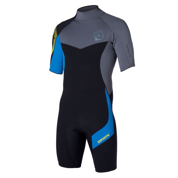 Mystic 2015 Crossfire 3/2 DL Shorty Wetsuit Black Friday, Wetsuit, - Live2Kite