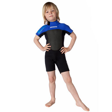 Mystic 2015 Star 3/2 D/L Shorty Kids Wetsuit, Wetsuit, - Live2Kite