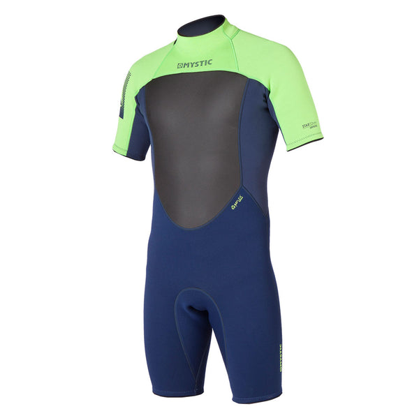 Mystic 2015 Star 3/2 Shorty Flatlock Wetsuit, Wetsuit, - Live2Kite