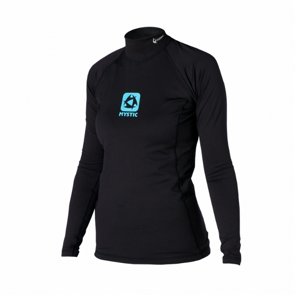 Mystic 2019 Women's Bipoly Long Sleeve Thermal Top, Water Wear, - Live2Kite