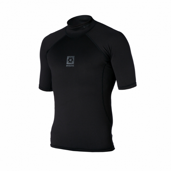 Mystic 2019 Bipoly Short Sleeve Thermal Top, Water Wear, - Live2Kite
