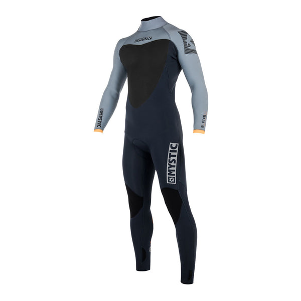 Mystic 2018 Majestic Fullsuit 5/3mm Backzip Black Friday, Wetsuit, - Live2Kite