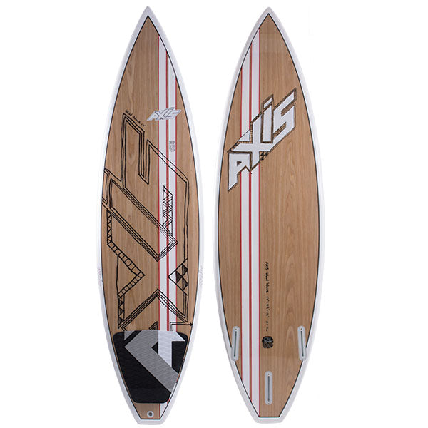 AXIS 2015 Wood Pro Wave Surf Kiteboard, Kiteboard, - Live2Kite