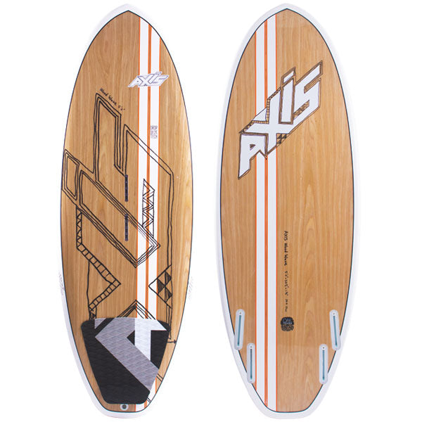 AXIS 2015 Wooden Spud Surf Kiteboard, Kiteboard, - Live2Kite