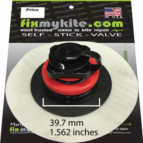 FixMyKite Ozone Big Boston Screw Valve Inflate/Deflate, Repair, - Live2Kite