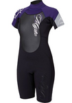 Mystic 2013 Women's Star 3/2 DL Shorty Wetsuit, Wetsuit, - Live2Kite
