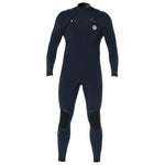 Prolimit 2019 Mercury Steamer 4/3 Freezip FTM Black/Silver/Blue, Wetsuit, - Live2Kite