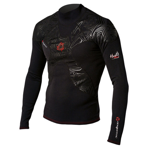 Mystic Matrix Metalite Rash Vest L/S 2010