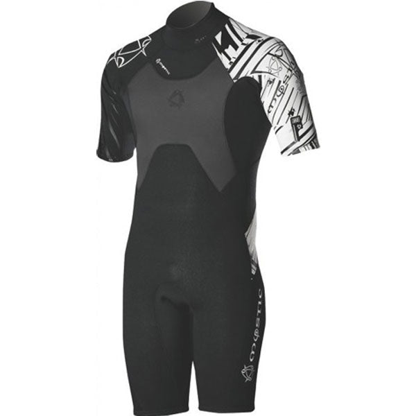 Mystic 2010 Crossfire 3/2 DL Shorty Wetsuit, Wetsuit, - Live2Kite