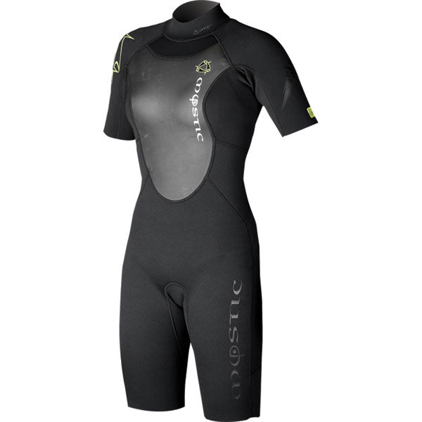 Mystic 2010 Women's Star 3/2 Short Arm Short Leg Backzip Wetsuit, Wetsuit, - Live2Kite