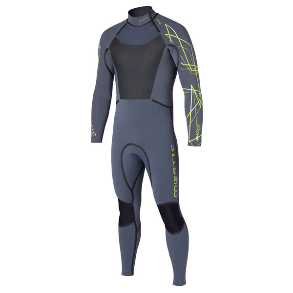 Mystic 2014 Black Star 5/4 Fullsuit Backzip Wetsuit, Wetsuit, - Live2Kite