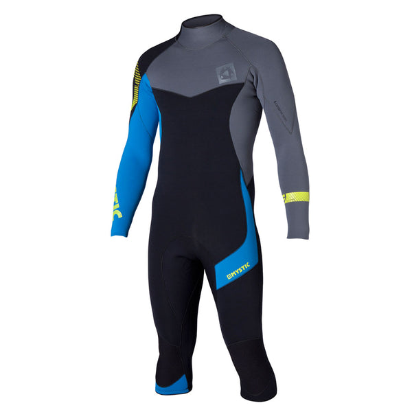 Mystic 2015 Crossfire 4/3 Shortleg Backzip Wetsuit, Wetsuit, - Live2Kite