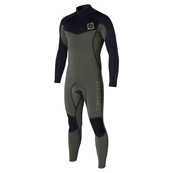 Mystic 2015 Voltage 4/3 D/L Fullsuit Backzip Wetsuit, Wetsuit, - Live2Kite