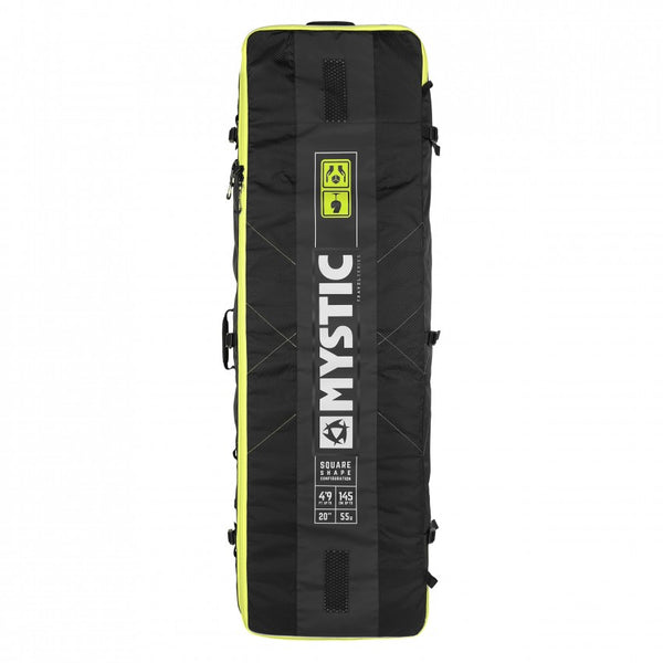 Mystic 2019 Elevate Square Lightweight Boardbag with Wheels, Gear Bag, - Live2Kite