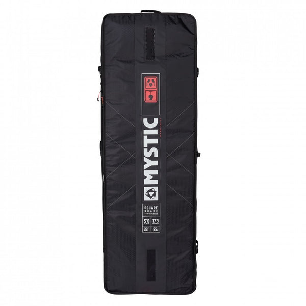 Mystic 2019 Gearbox Square Boardbag with XL Wheels, Gear Bag, - Live2Kite