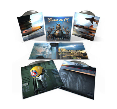 Store Exclusive! Warheads on Foreheads 4LP Vinyl - Metallic Silver 180g set-Megadeth