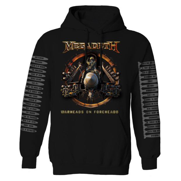 Warheads on Foreheads Reactor Pullover Sweatshirt-Megadeth