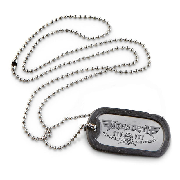 Warheads on Foreheads Dog Tags