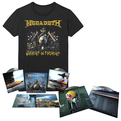 Warheads on Foreheads Album & Tee Bundle-Megadeth