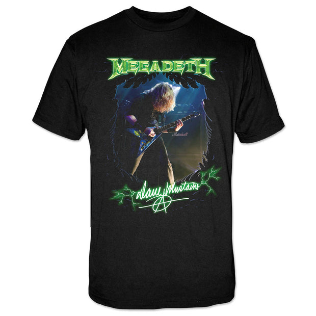 Dave Mustaine Photo tee