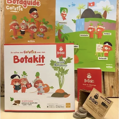 BOTAKI - KIT CAROTTE-ALMA Grown in town