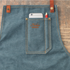 TABLIER COTON VINTAGE - DENIM BLEU
