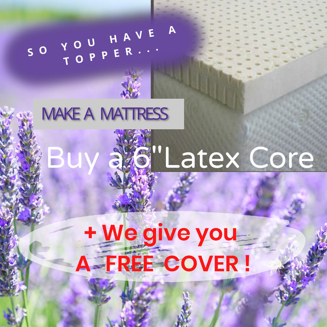 Dunlop Latex Core | Free Organic Cover