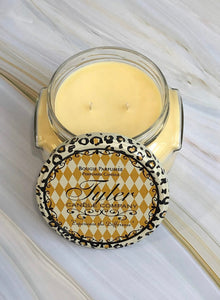 "Tyler Candle ""Pineapple Crush"" Fragrance"